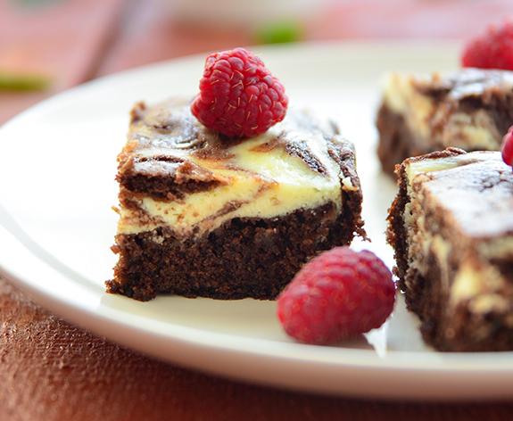 Brownie s krem sirom