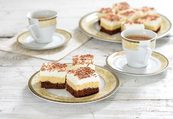 Irish brownie cheesecake