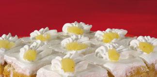 Nepečeni kolač od ananasa