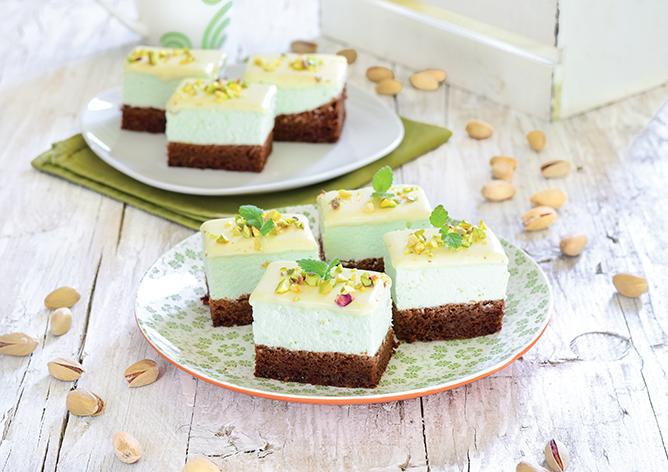 Pjenasti kolač - Pistachio jastučić