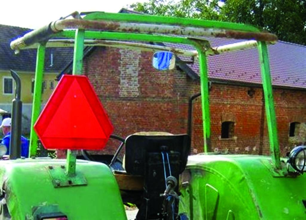 zaštitna konstrukcija prevrtanje traktora