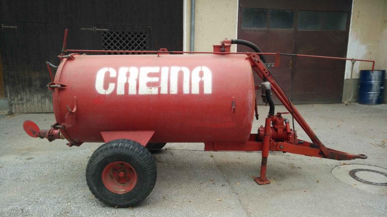 Cisterna za vodu ili gnojnicu Creina