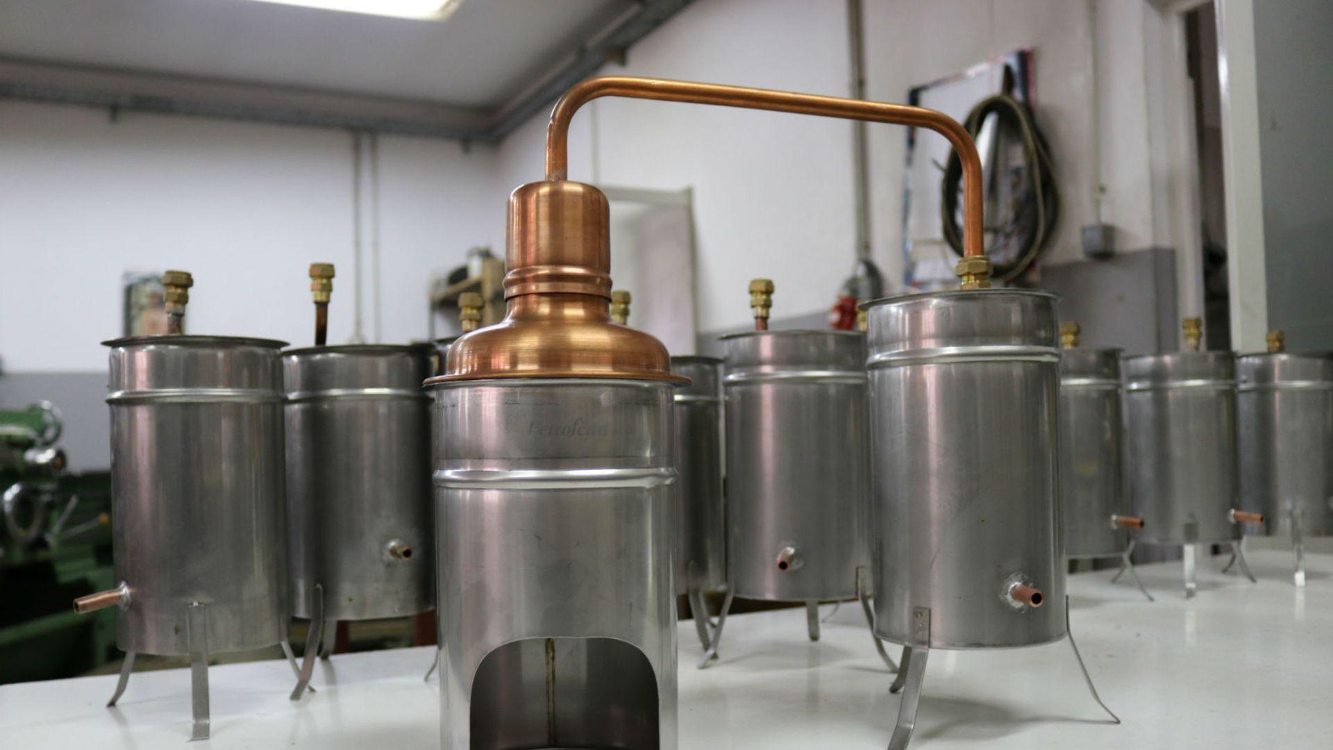destilacija na jednostavnom kotlu