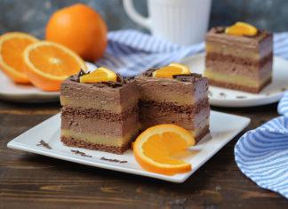 kolač od naranče i čokolade